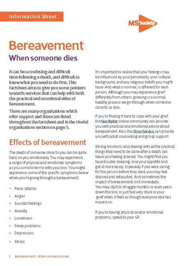 Picture of Bereavement