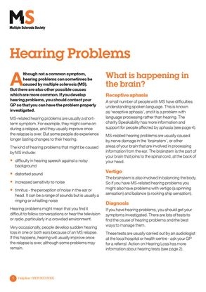 Picture of Hearing problems
