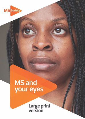 Picture of MS and your eyes: large print version