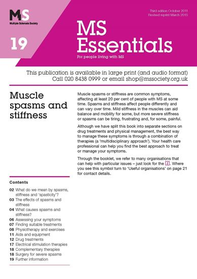 Picture of Muscle Spasms & Stiffness