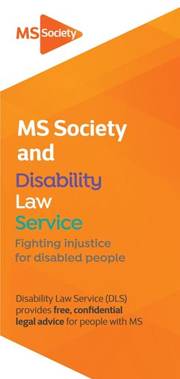 Picture of Disability Law Service leaflet