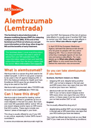Picture of Alemtuzumab