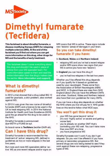 Picture of Dimethyl fumarate