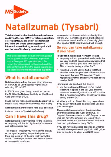Picture of Natalizumab