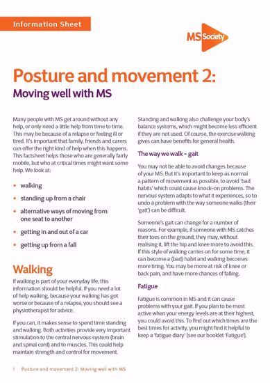 Picture of Posture and movement