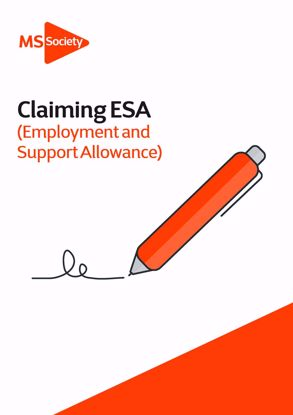 Picture of Claiming Employment and Support Allowance (ESA)